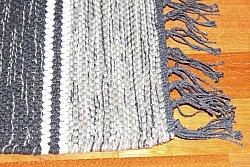 Rag rugs from Stjerna of Sweden - Haga (grey)