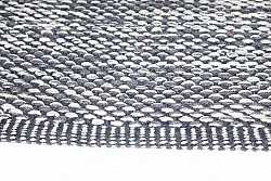 Rag rugs Large - Tuva (grey) 160 x 230 cm