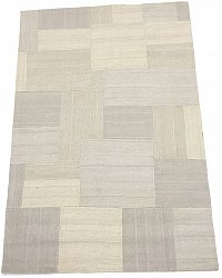 Patchwork Carpet - Superior new wool Patchwork (white)