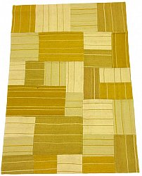 Patchwork Carpet - Superior new wool Patchwork (yellow)