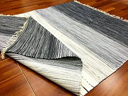Rag rugs from Strehög of Sweden - Lisa (grey)