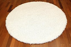 Round rugs - Fancy (White)