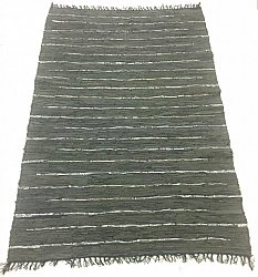 Rag rugs Large - Nordal Design (grey, 100% leather) 200 x 300 cm