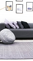 Wool rug - Gimari (grey)
