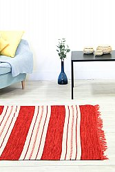 Rag rugs from Stjerna of Sweden - Kajsa (red)