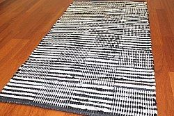 Rag rugs from Stjerna of Sweden - Emma (black)