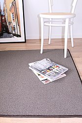 Custom Size Rug (finest wool) - Memphis Berber (grey/brown)