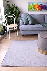 Custom Size Rug (finest wool) - Memphis Berber (grey)