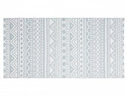 Kitchen rug (plastic) - The Horredmatta Inca (blue)