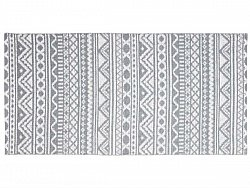Kitchen rug (plastic) - The Horredmatta Inca (grey)