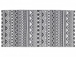 Kitchen rug (plastic) - The Horredmatta Inca (graphite)