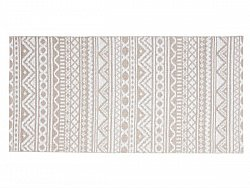 Kitchen rug (plastic) - The Horredmatta Inca (pink)