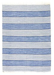 Rug 160 x 230 cm (cotton) - Julia (blue)