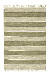 Rug 160 x 230 cm (cotton) - Julia (green)