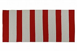 Plastic Mats - Marstrand (red-white)