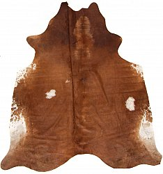 Cowhide - Classic Brown and White 12