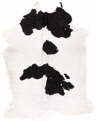 Cowhide - black and white 53