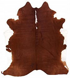Cowhide - Classic Brown and White 23