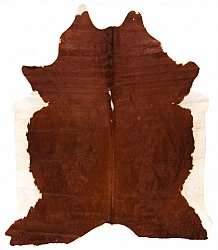 Cowhide - Classic Brown and White 28