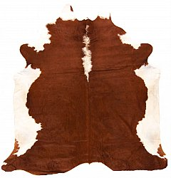 Cowhide - Classic Brown and White 29
