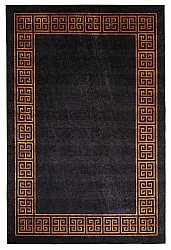 Wilton rug - Kuba (black/brown)