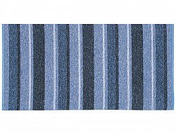 Kitchen rug (plastic/cotton) - The Horredmatta Liv Mix (blue)