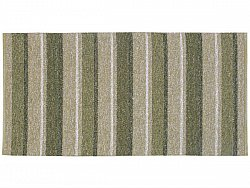 Kitchen rug (plastic/cotton) - The Horredmatta Liv Mix (olive)