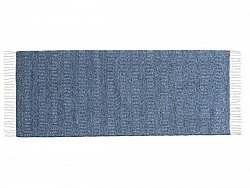 Kitchen rug (plastic/cotton) - The Horredmatta Maja Mix (blue)