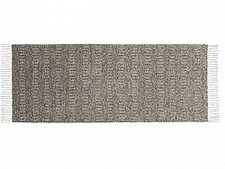 Kitchen rug (plastic/cotton) - The Horredmatta Maja Mix (brown)