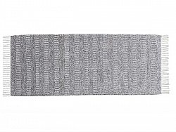 Kitchen rug (plastic/cotton) - The Horredmatta Maja Mix (grey)