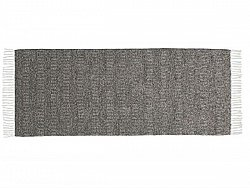 Kitchen rug (plastic/cotton) - The Horredmatta Maja Mix (graphite)