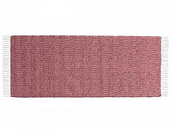 Kitchen rug (plastic/cotton) - The Horredmatta Maja Mix (pink)