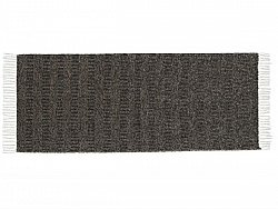 Kitchen rug (plastic/cotton) - The Horredmatta Maja Mix (black)