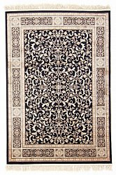 Wilton rug - Medallion (black)