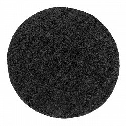 Round rugs - Trim (black)