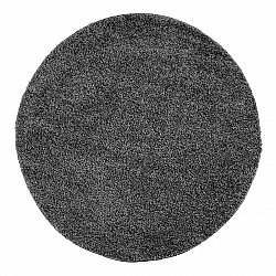 Round rugs - Trim (Dark grey)