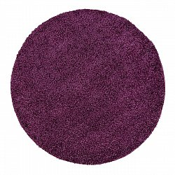 Round rugs - Trim (purple)