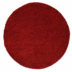 Round rugs - Trim (red)