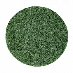 Round rugs - Trim (green)