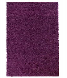 Trim shaggy rug purple round short pile long 60x120-cm 80x 150 cm 140x200 cm 160x230 cm 200x300 cm