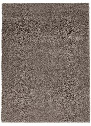 Trim shaggy rug brown round short pile long 60x120-cm 80x 150 cm 140x200 cm 160x230 cm 200x300 cm