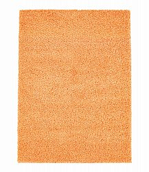 Trim shaggy rug orange round short pile long 60x120-cm 80x 150 cm 140x200 cm 160x230 cm 200x300 cm