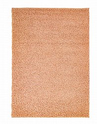 Pastel shaggy rug orange round short pile long 60x120-cm 80x 150 cm 140x200 cm 160x230 cm 200x300 cm