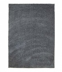 Soft Shine shaggy rug Dark grey round short pile long 60x120-cm 80x 150 cm 140x200 cm 160x230 cm 200x300 cm