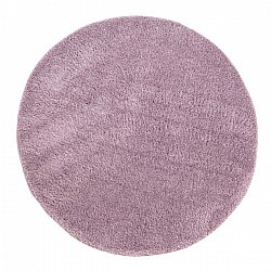 Round rugs - Soft Shine (purple)