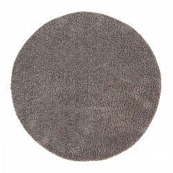 Round rugs - Soft Shine (brown)