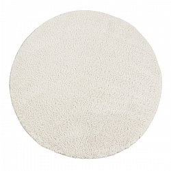 Round rugs - Soft Shine (white)