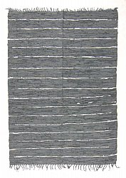 Rug 200 x 300 cm (cotton) - Nordal Design (grey, 100% leather)