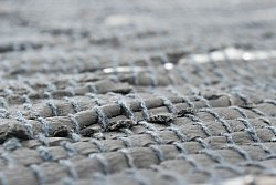 Rag rugs - Nordal Design (grey, 100% leather)