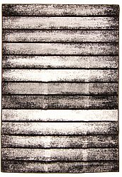 Rug 133 x 190 cm (wilton) - Orillo (grey/black/white)